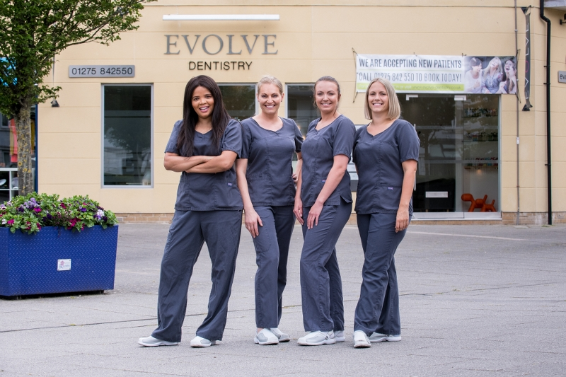 Dental nurses at Evolve