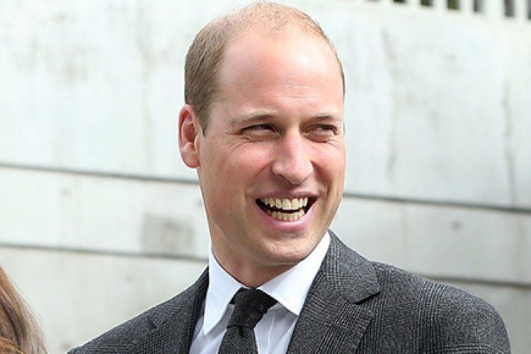 Prince William smile